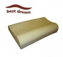 Best Dream Travel Wave memóriahabos hullám párna