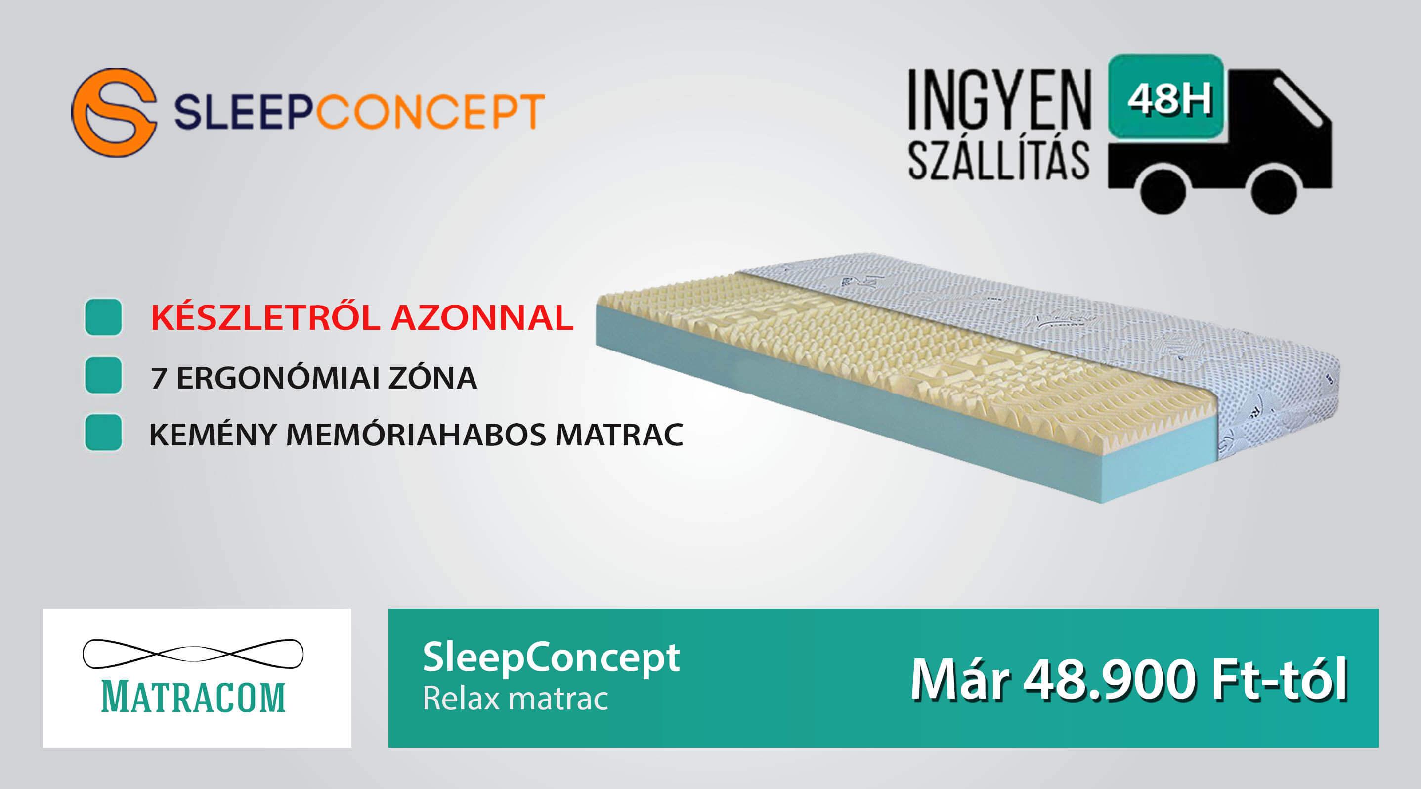 SleepConcept Relax matrac