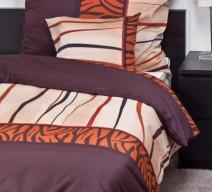 Cacao színű ágynemű garnitúra