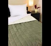 Naturtex moha és krém színű ágytakaró