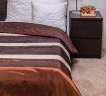Naturtex Taft Elegant Chocolate 235x250cm ágytakaró