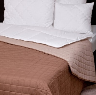 Naturtex Laura ágytakaró barna drapp