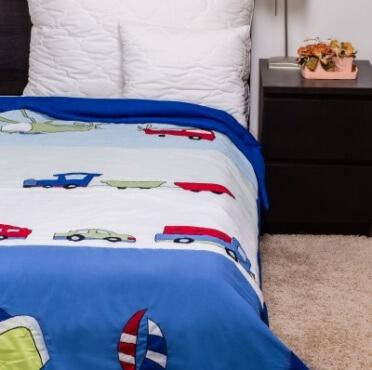 Naturtex Gyerek ágytakaró autós