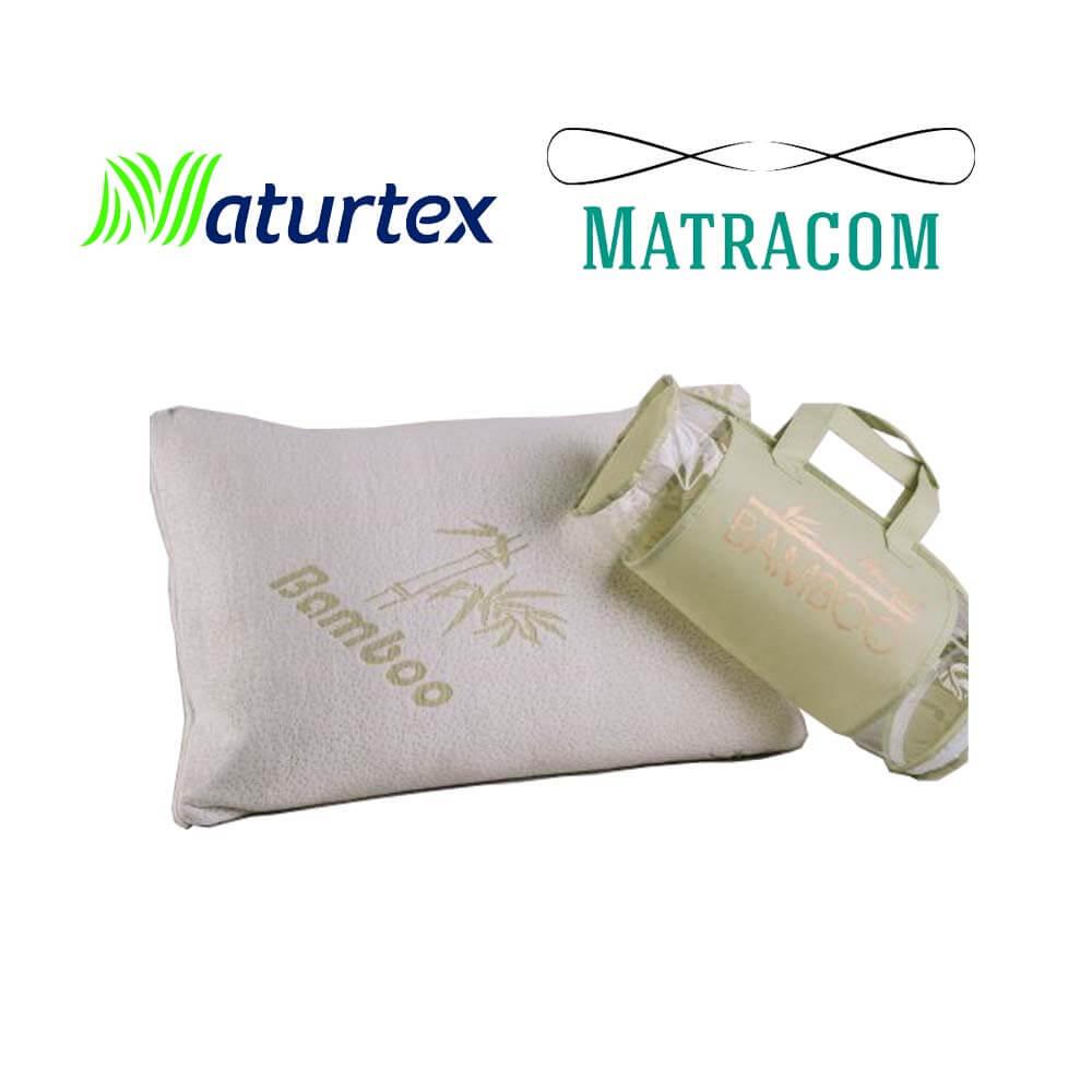 Naturtex Memory Bamboo Basic párna - Matracom 43ac13345a